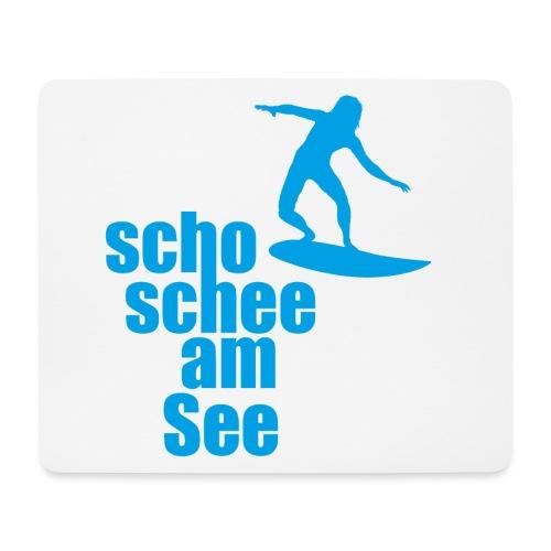 scho schee am See Surfer 04 - Mousepad (Querformat)