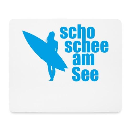 scho schee am See Surferin 03 - Mousepad (Querformat)
