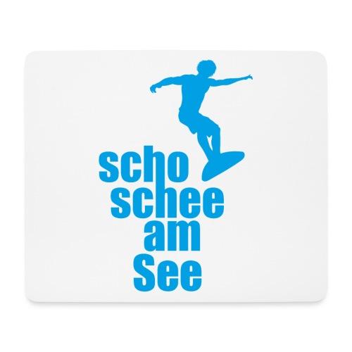 scho schee am See Surfer 02 - Mousepad (Querformat)