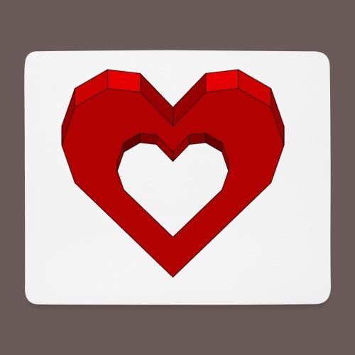 Heart Illusion - Mousepad (bredformat)