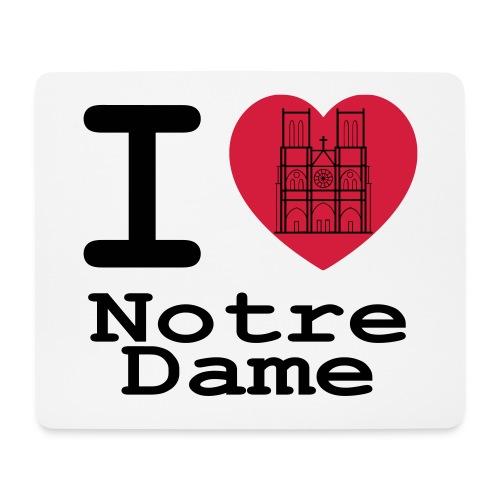 I love Notre Dame - Muismatje (landscape)