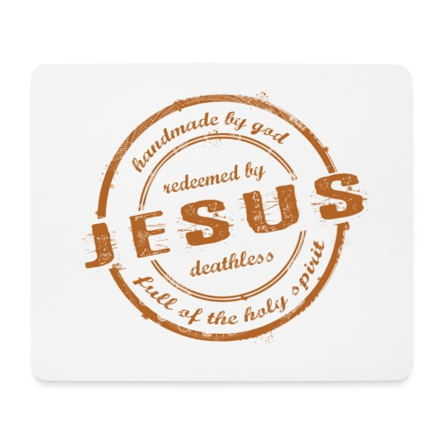 Redeemed by Jesus - Mousepad (Querformat)