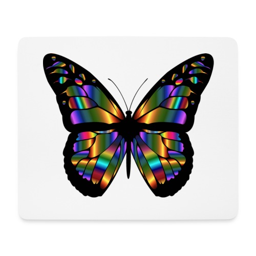 papillon design - Tapis de souris (format paysage)