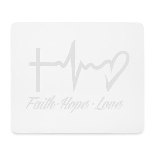 FAITH HOPE LOVE - Mouse Pad (horizontal)