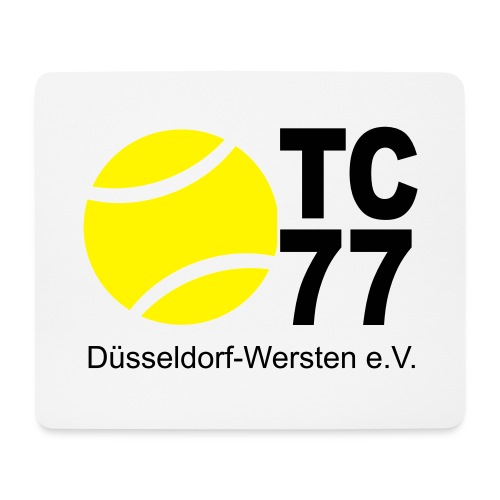 TC 77 Logo - Mousepad (Querformat)