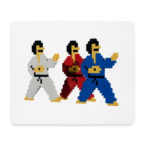 8 bit trip ninjas 1 - Mouse Pad (horizontal)