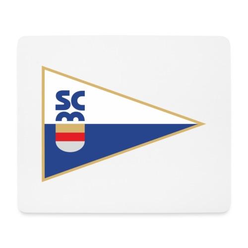 SCM Wimpel einseitig - Mousepad (Querformat)