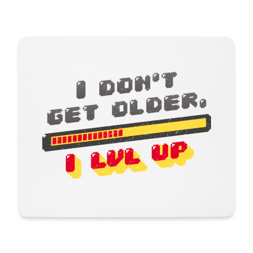 Gamer Spruch - Mouse Pad (horizontal)
