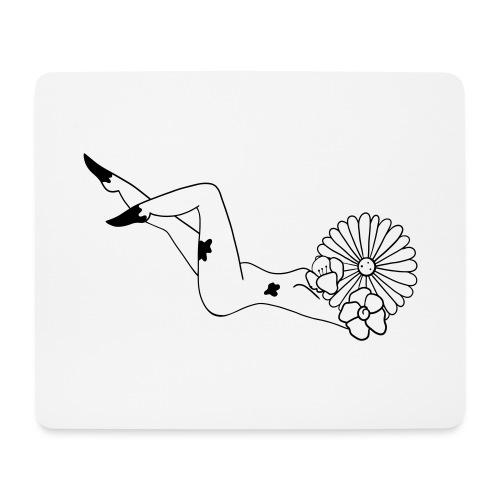Flower power - Mousepad (bredformat)