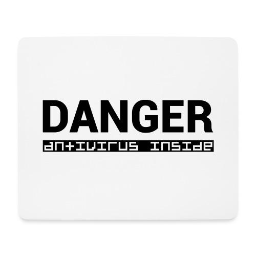 DANGER_antivirus_inside - Mouse Pad (horizontal)