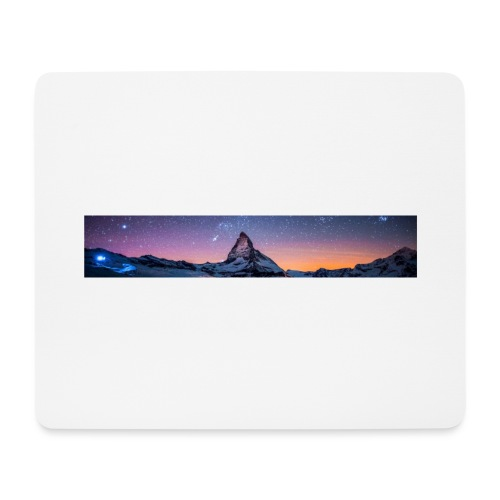 Mountain sky - Mousepad (Querformat)