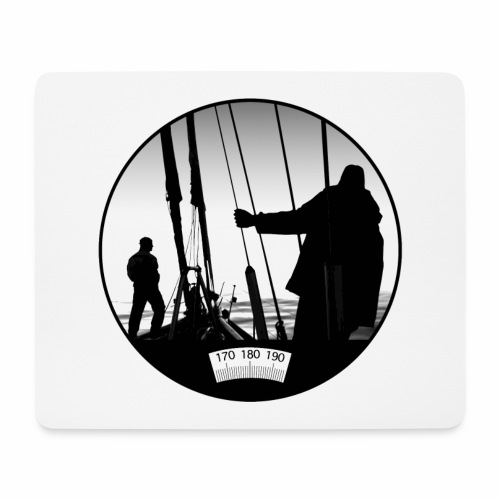 deck chair - Mouse Pad (horizontal)