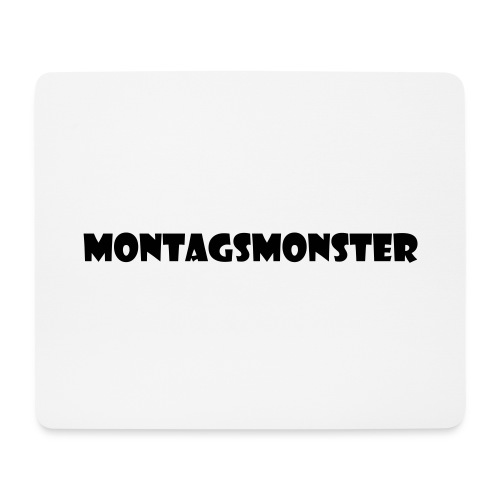 Montagsmonster - Mousepad (Querformat)