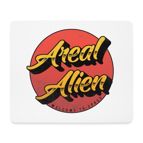 Alien Rusty Vintage Logo - Musematte (liggende format)