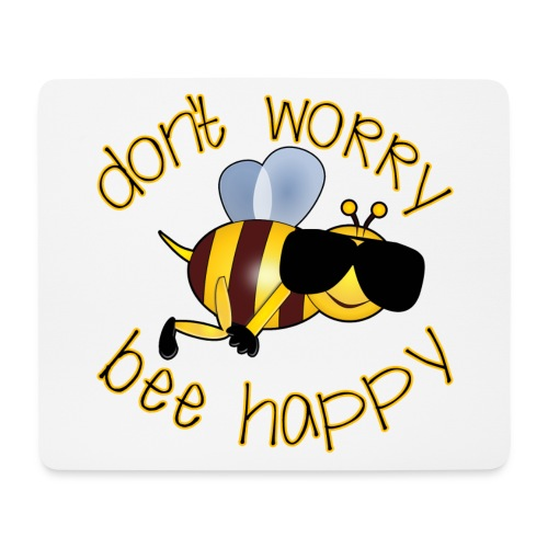 Bee happy, it´s summertime! - Mousepad (Querformat)