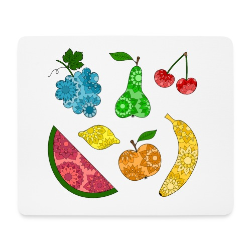 Obstsalat - Mousepad (Querformat)