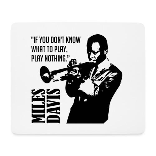 Miles Davis - Tapis de souris (format paysage)
