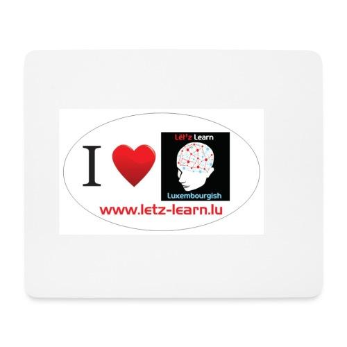 iloveletzlearn - Mousepad (Querformat)