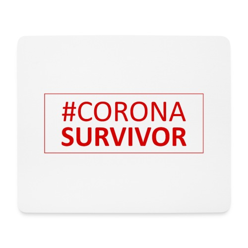 Corona Virus Survivor - Mouse Pad (horizontal)