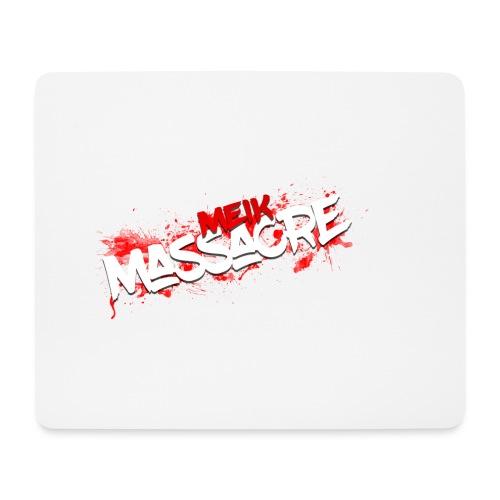 Meik Massacre Bloody - Mouse Pad (horizontal)