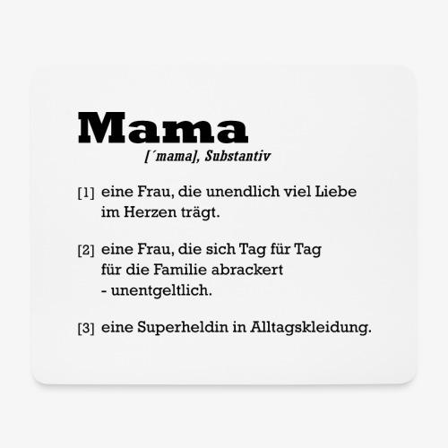 Mama Mutter - Mousepad (Querformat)