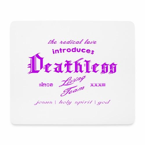 deathless living team violet - Mousepad (Querformat)