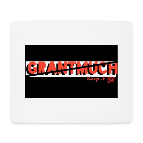 GrantMuchMerch - Mouse Pad (horizontal)