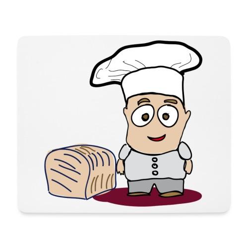 Bäcker - Mousepad (Querformat)
