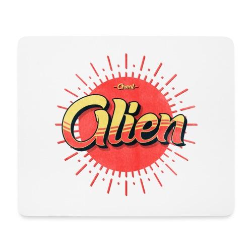 Alien Vintage Logo - Musematte (liggende format)
