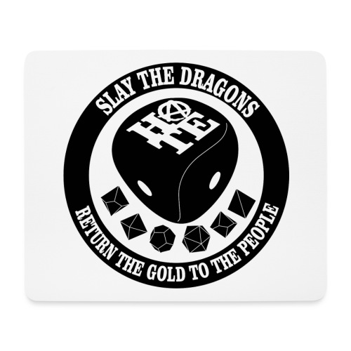 DRAGONS B - Mouse Pad (horizontal)