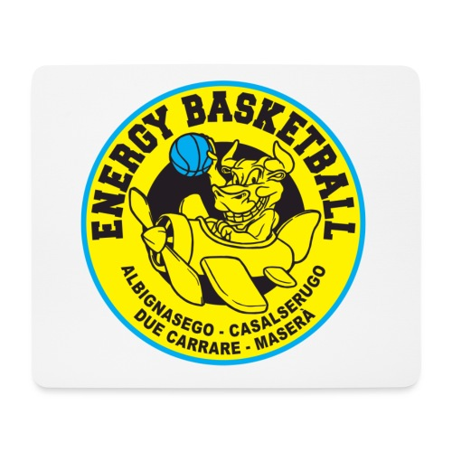 work energy basketbal - Tappetino per mouse (orizzontale)