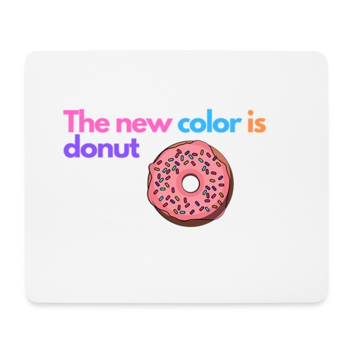 Donut color - Mouse Pad (horizontal)