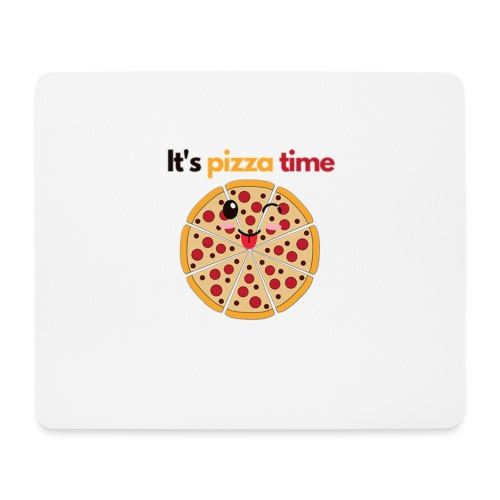 pizza time - Mouse Pad (horizontal)