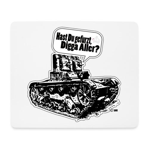 In den Panzer gefurzt - Mousepad (Querformat)