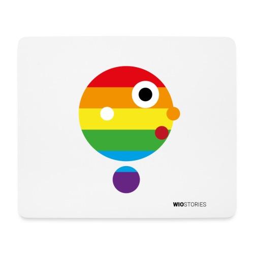 WIO LGTBI - Alfombrilla de ratón (horizontal)