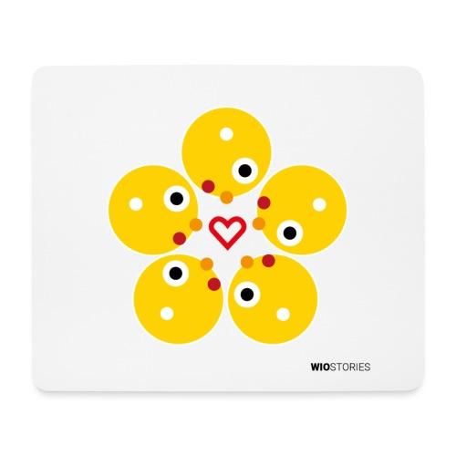 WIO LOVE - Alfombrilla de ratón (horizontal)