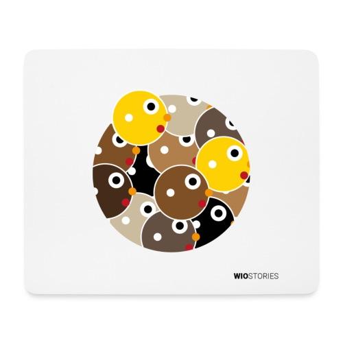 WIO SKIN COLOR - Alfombrilla de ratón (horizontal)