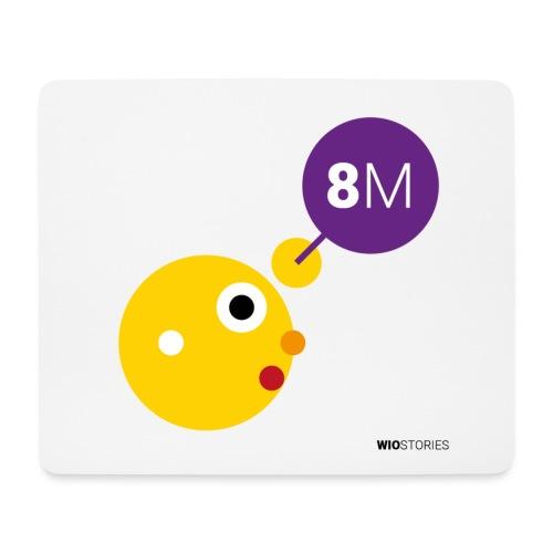 WIO 8M - Alfombrilla de ratón (horizontal)