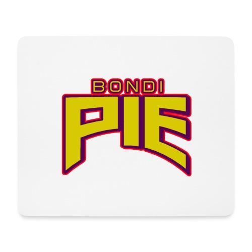BondiPie logga utan maskot - Musmatta (liggande format)
