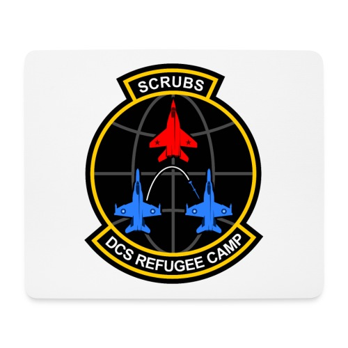 DCS Refugee Camp - Mousepad (Querformat)