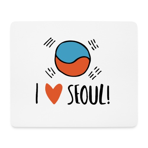 Seoul - Mousepad (Querformat)