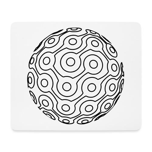 GTMR logo lines - Mouse Pad (horizontal)