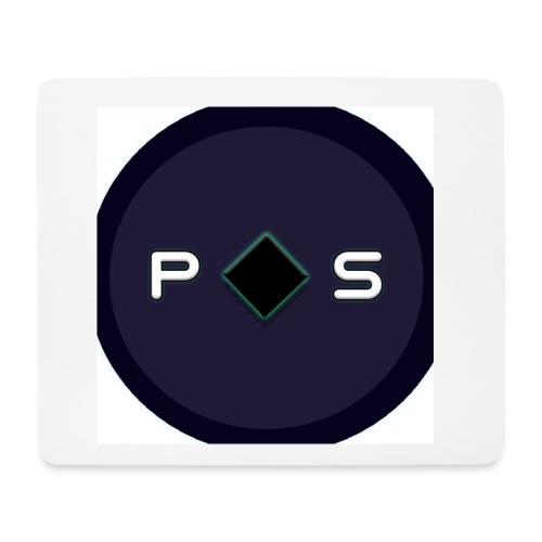 blocked pixelwhite - Mouse Pad (horizontal)