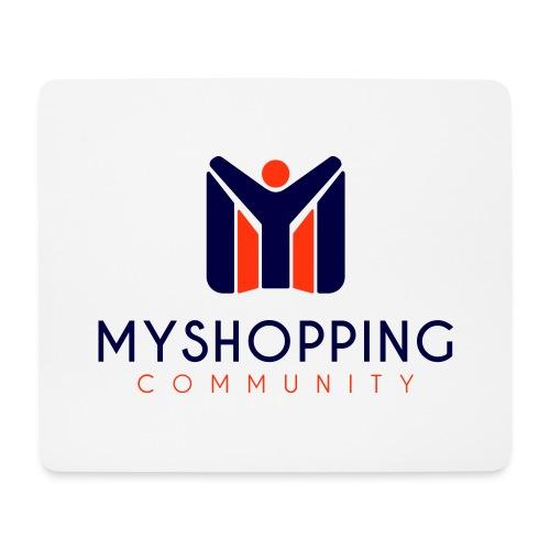 logo MYSC verticale - Tappetino per mouse (orizzontale)