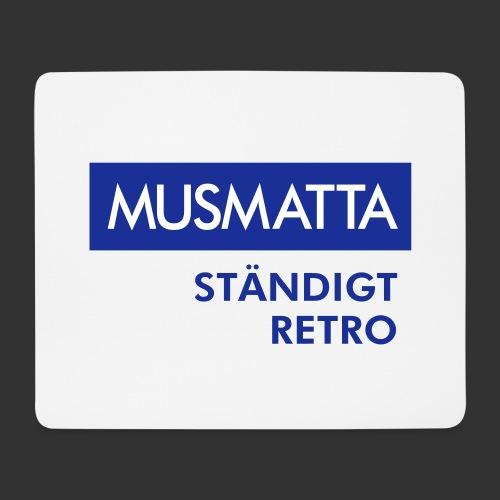 BLÅVITT MUSMATTA - Musmatta (liggande format)