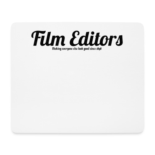 film editors logo - Mouse Pad (horizontal)
