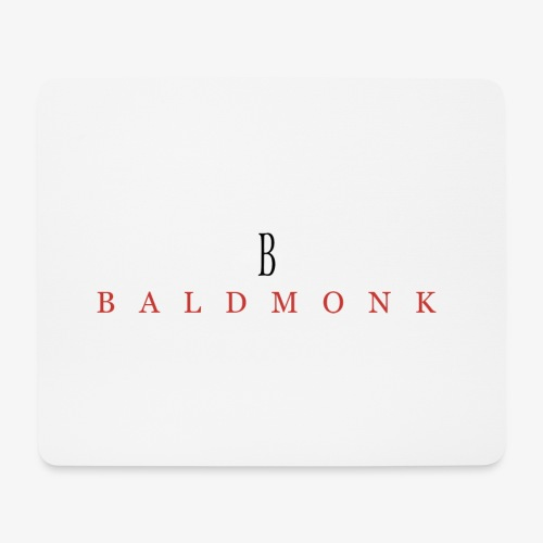 Baldmonk Classic Logo - Mouse Pad (horizontal)