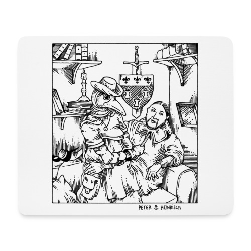 Peter et Heinrisch jpg - Tapis de souris (format paysage)