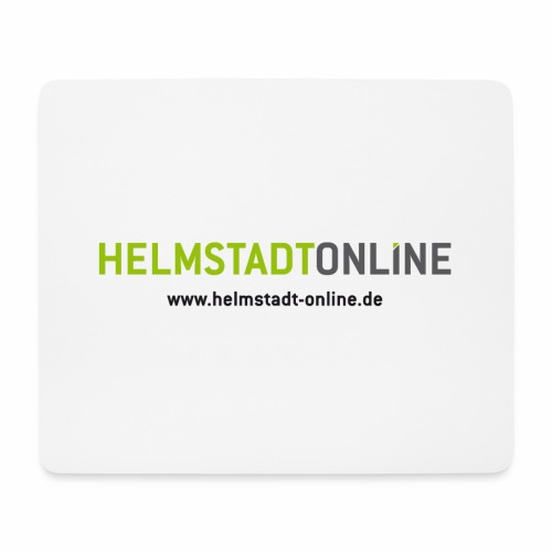 Logo mit www - Mousepad (Querformat)