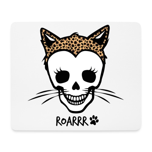 Wild-Katzen-Liebe - Mousepad (Querformat)